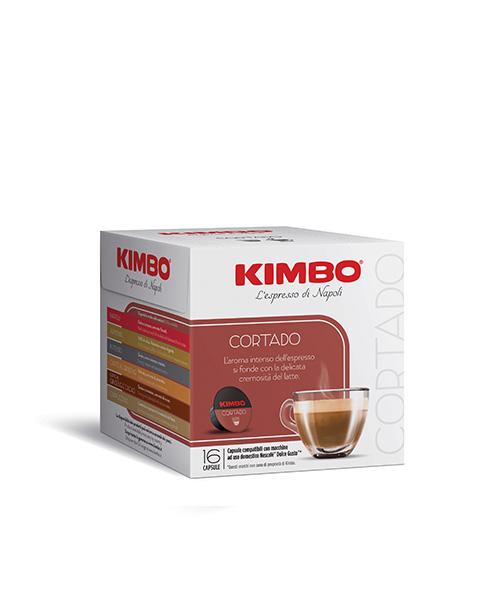 Кафе на капсули Kimbo Cortado Dolce Gusto-16 напитки