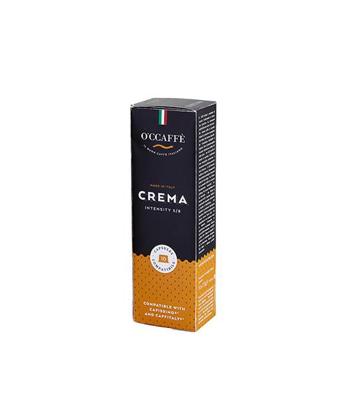 Кафе капсули OCCAFFE Crema съвместими със система Cafissimo/Caffitaly- 10 бр.