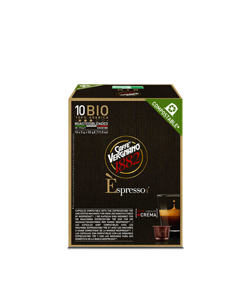 Кафе капсули Caffe Vergnano 1882 Bio Nespresso-10 бр.