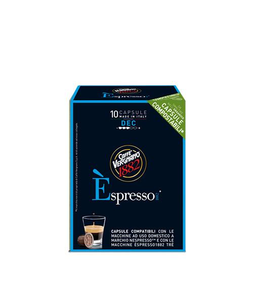 Кафе капсули Caffe Vergnano 1882 Decaf  Nespresso-10бр