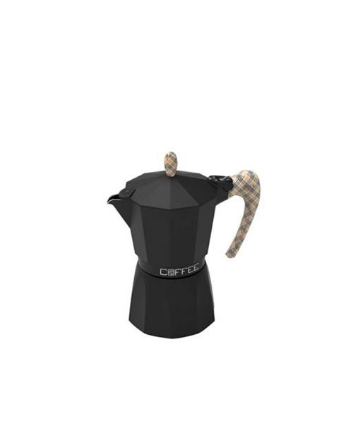 Кафеварка G.A.T. Fashion black BURBERRY - 3 чаши