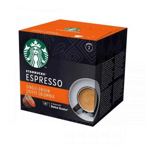 NESCAFE Dolce Gusto STARBUCKS SINGLE ORIGIN COFFEE COLOMBIA - 12 бр.