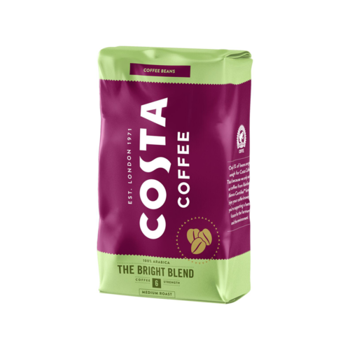 Кафе на зърна Costa THE BRIGHT BLEND 100% АРАБИКА 1 кг.