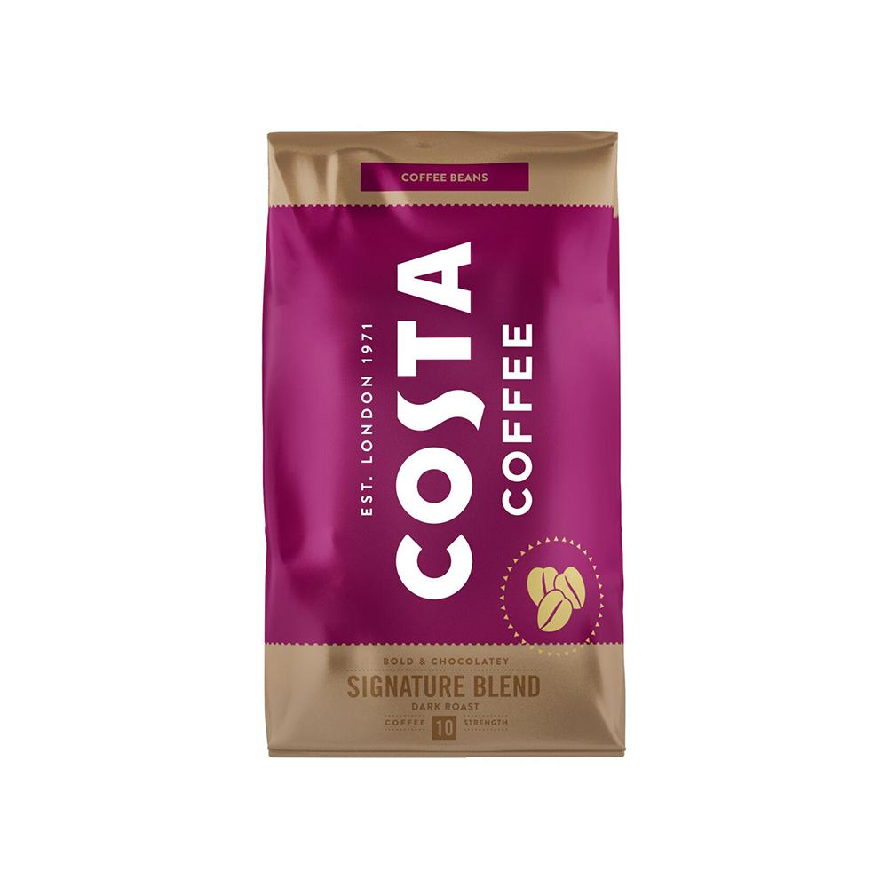 Кафе на зърна CostaTHE SIGNATURE BLEND DARK 1 кг.