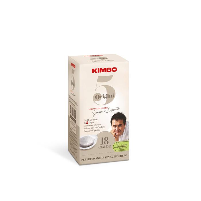Филтър дози Kimbo 5 Origini 100% Arabica 18 бр.