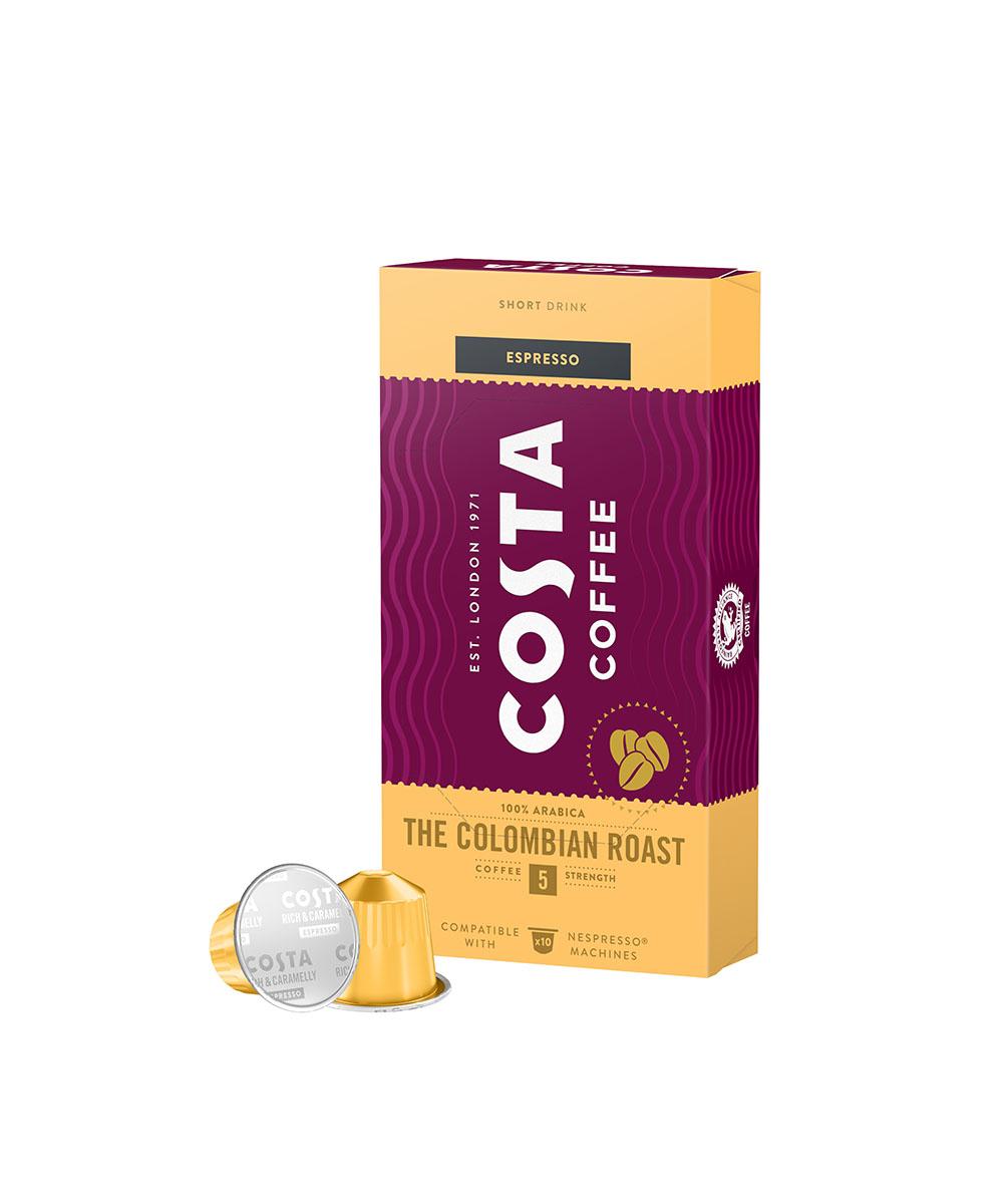 Кафе накапсули Costa за Nespresso