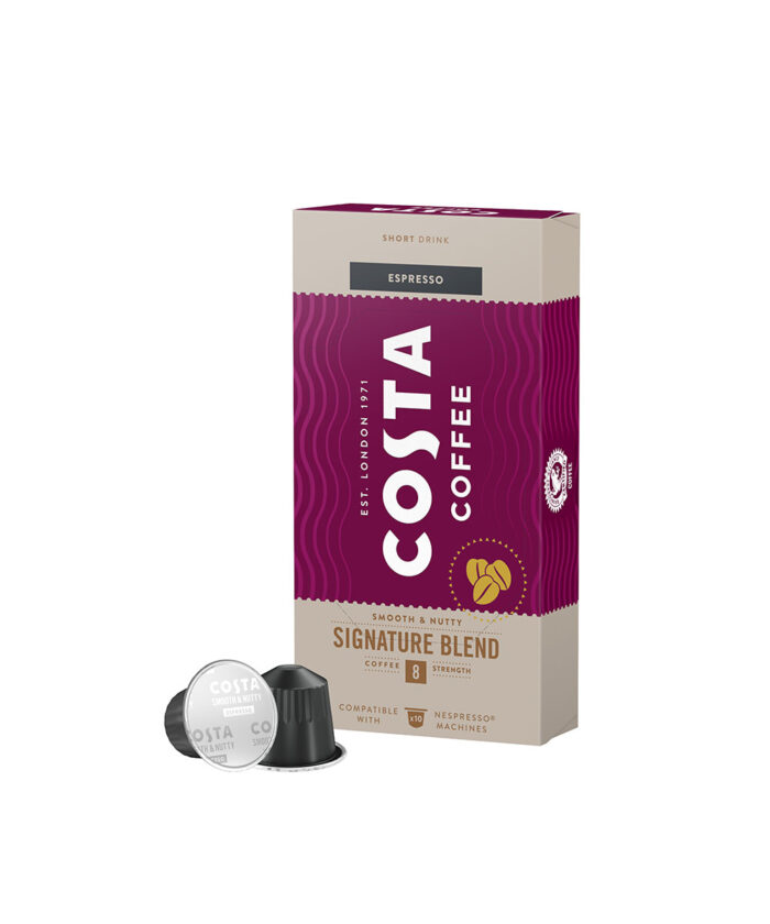 КАфе капсули Costa за Nespresso