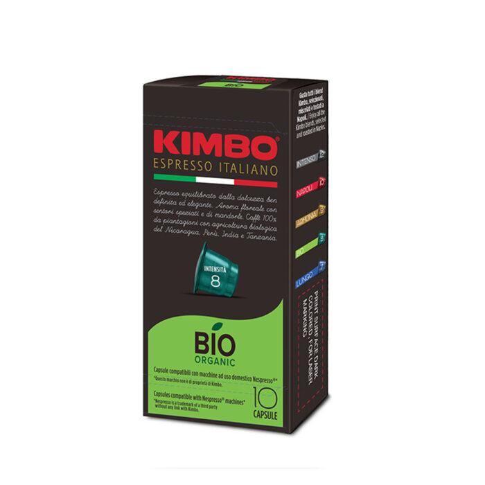 Кафе на капсули KIMBO BIO Nespresso – 10бр./кутия