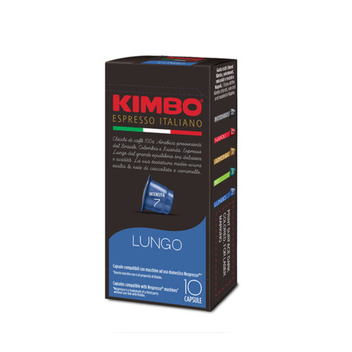 Кафе на капсули KIMBO Lungo Nespresso – 10бр./кутия