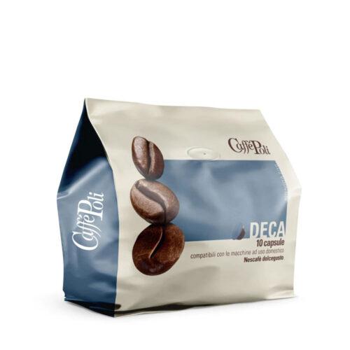 Кафе на капсули Caffe Poli Dolce Gusto Decaffein