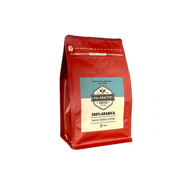 Кафе на зърна Poli Roasters 100% Arabica Beans 0.250kg.