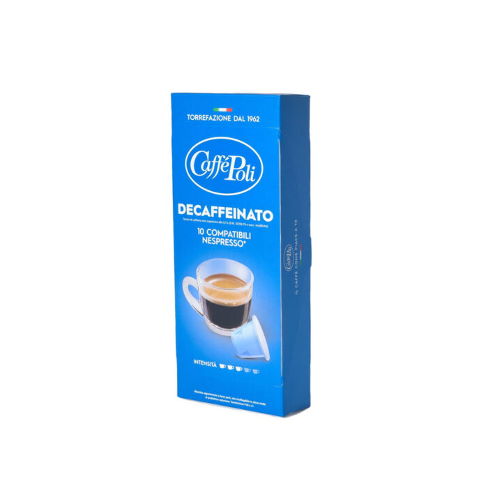 Kapsuli kafe za nespresso Poli Decofeinato