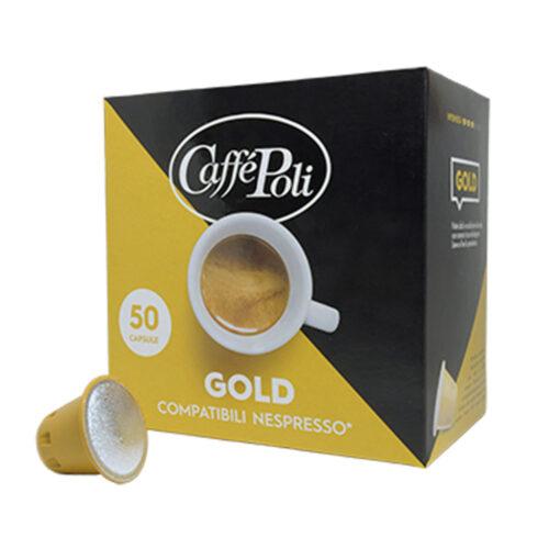 Kafe na kapsuli za Nespreso Poli gold