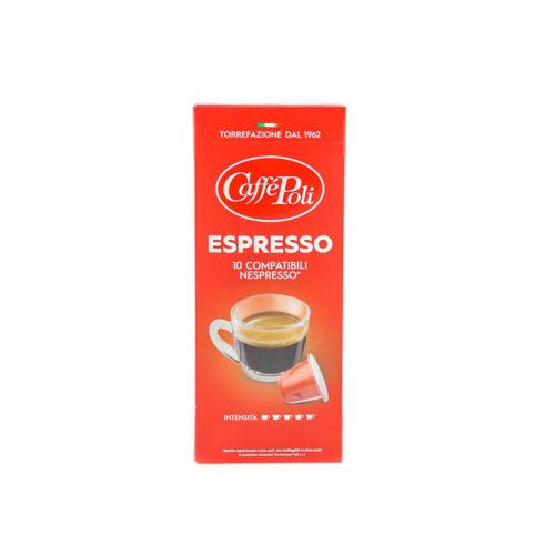 Kafe na kapsuli za nespresso Poli espresso