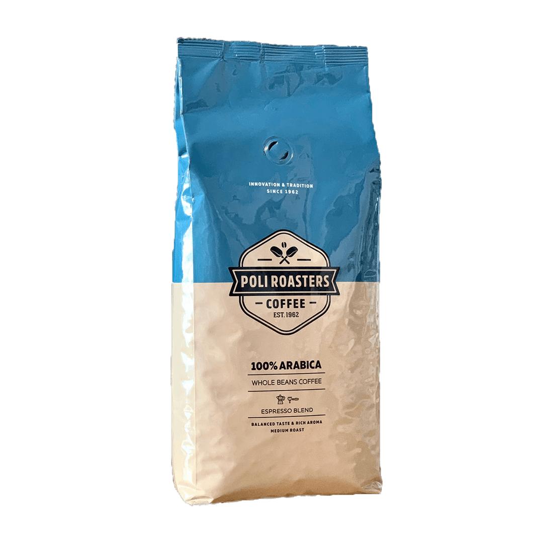 Kafe na zyrna Poli Arabica 1 kg.
