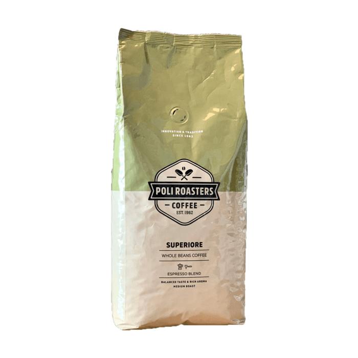 Kafe na zarna Poli Supriore 1 kg.