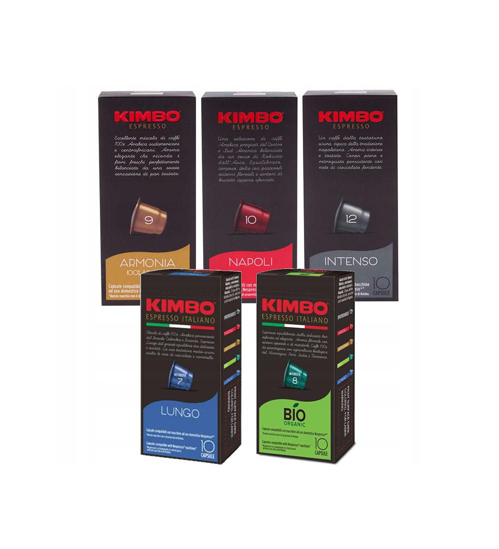 Комбо пакет капсули Kimbo Nespresso